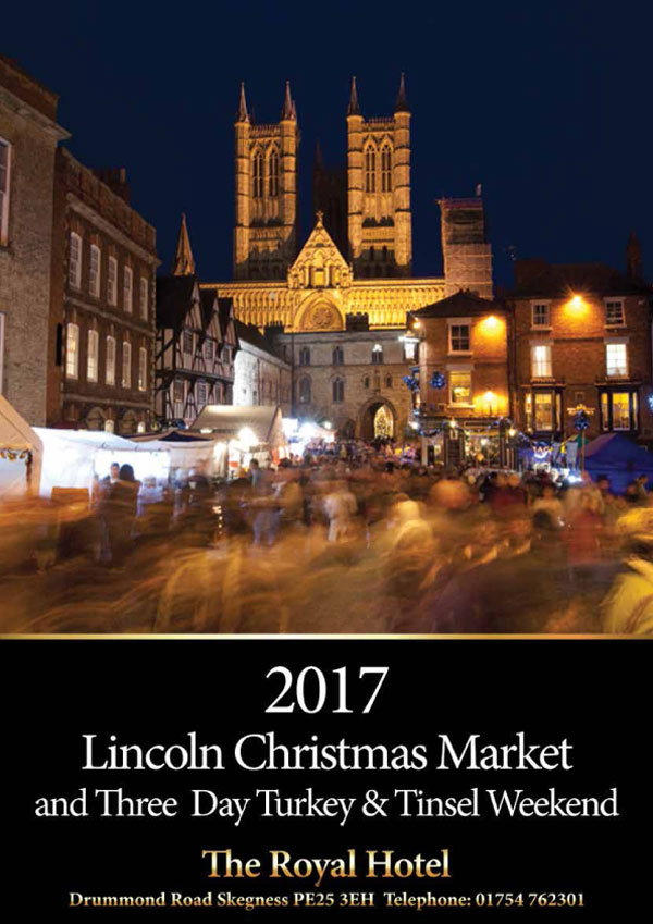 Lincoln Christmas Market 2017 - 8th - 11th December 2017